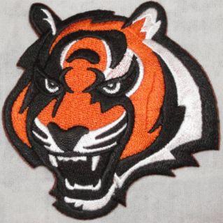 Cincinnati Bengals Tiger Logo NFL Football Jersey Patch