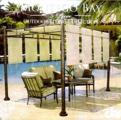 Sams Club Montego Bay Patio Pergola Replacement Canopy