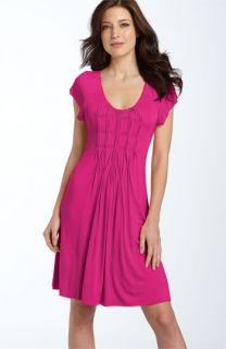 Fever Pinch Pleat Jersey Dress
