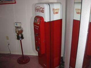 "Coke Machine """" Vendo 44 """" RARE Nice """""