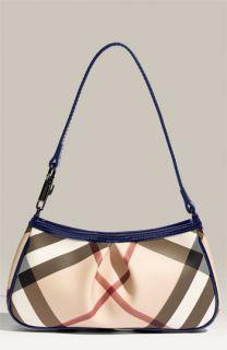 Burberry Small Check Print Shoulder Bag