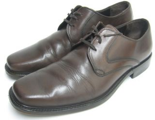 Murphy Men Dress Shoes Brown Leather Colden Lace Up Oxfords 9 M