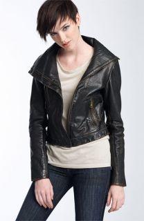 Andrew Marc Ella Leather Jacket