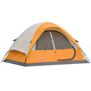 Coleman Sunset Dunes 4 Person 9 x 7 Family Camping Dome Tent