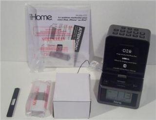 iHome ID37 FM Stereo Alarm Clock Radio iPod iPhone iPad