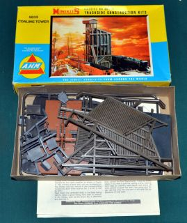 Coaling Tower Building Kit AHM Minikits 5833 HO Scale [O25.5]