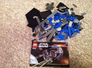 Lego Star Wars TIE Interceptor 6206 in Star Wars