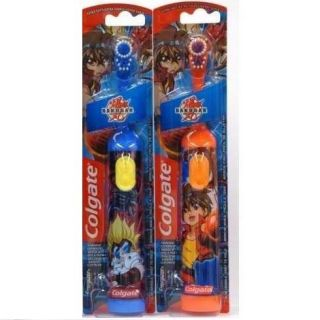 Pk. Colgate Bakugan Childrens Powered Toothbrush, Extra Soft