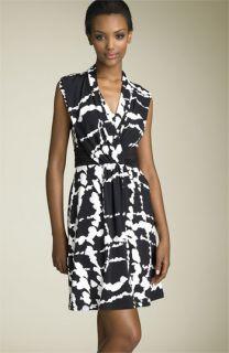 BCBGMAXAZRIA Print Matte Jersey Dress