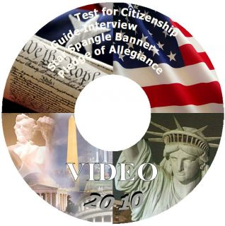 Video DVD Study Guide for The US Citizenship Interview