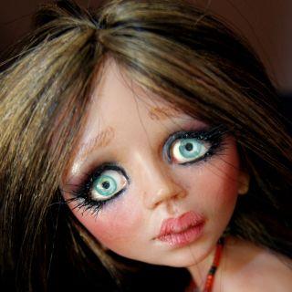 OOAK Hand Made BJD Art Doll Alice by Esmeralda Gonzalez Doll Tears