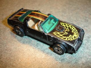 1977 Old Vtg Antique Collectible Diecast Hot Wheels HOT BIRD Toy Car