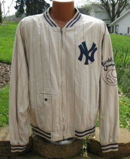 Cooperstown Collection 1927 New York Yankees World Champs Jacket LG