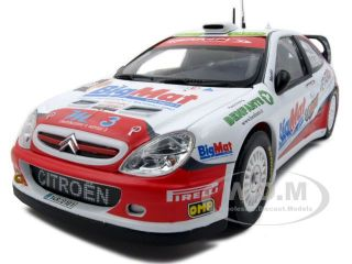 descriptions brand new 1 18 scale diecast citroen xsara wrc 8 kris
