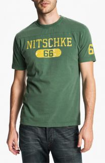 Red Jacket Ray Nitschke   Over Under T Shirt