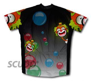 Bubbly Clown Cycling Jerseys All Sizes Bike