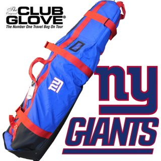 New York Giants Golf Club Travel Bag Club Glove Burst Proof II Great