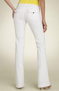 Citizens of Humanity Destiny Flap Pocket Stretch Flare Jeans (Santorini White Wash)