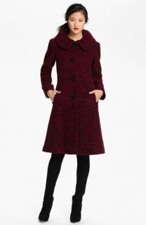 Ivanka Trump Single Breasted Tweed Coat (Online Exclusive)