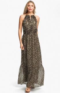 MICHAEL Michael Kors Mamba Print Maxi Dress