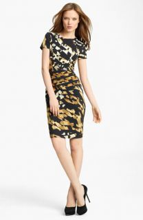 Blumarine Animal Print Jersey Dress