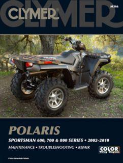 Polaris Sportsman 600 700 Clymer Repair Manual 02 10