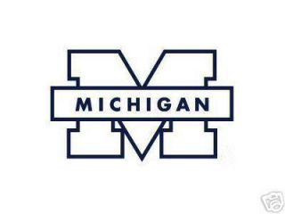 Michigan Wolverines Car Window Sticker Decal University