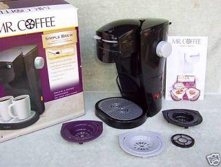 Mister Mr Coffee Single Serve Pod Brewing Machine Brewer Maker Save $