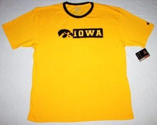University of Iowa Hawkeyes Shirt Colosseum Athletics Size XXL New