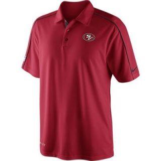 San Francisco 49ers Nike NFL 2012 Coaches Polo Shirt LG