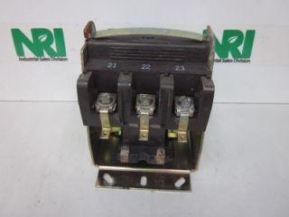 Joslyn Clark A77 288520A 31 Contactor Relay 120V Coil 75A Amp 600V 3P