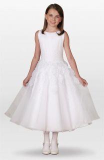 77031fd35e6 Joan Calabrese for Mon Cheri Leaf Dress (Little Girls   Big Girls ...