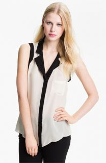 Parker Open Back Silk Georgette Blouse