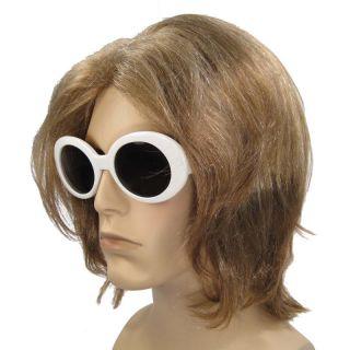 Grunge Nirvana Kurt Cobain Costume Wig Sunglasses