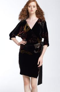 Diane von Furstenberg Grand Velvet Wrap Dress