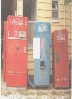 Coke Pepsi Vending Machines Light Switch Cover Plate