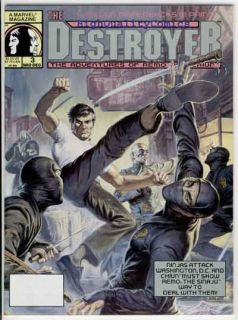 destroyer 3 magazine publisher marvel comics art by featuring stories