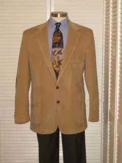 Vtg Levis Mens Western Corduroy Elbow Patch Sport Coat Jacket Blazer