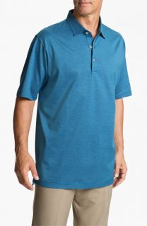 Peter Millar Needlepoint Jacquard Polo