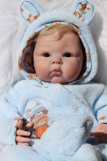 Looking Reborn Doll Baby Boy Adrie Stoete Paris Now Cody