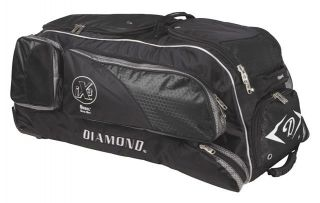Diamond Diesel Gear Box Wheeled Bat Bag Black Diamond Diesel Gear Box