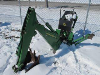 John Deere 7 Backhoe Attachment for Compact Tractors