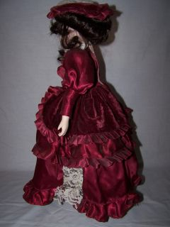 Collectible Heritage Mint Western Porcelain Doll