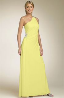 JS Boutique One Shoulder Matte Jersey Dress