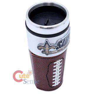 Orleans Saints Tumbler Cup Car Auto Coffee Mug NFL Football Travel Cup
