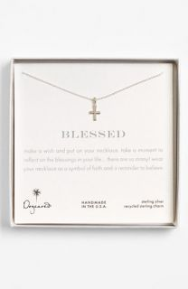 Dogeared Blessed Cross Pendant Necklace ( Exclusive)