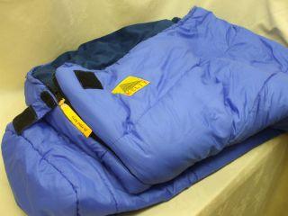 Kelty Clear Creek 20 Degree Sleeping Bag 33 x 88 Lightly Used as Is
