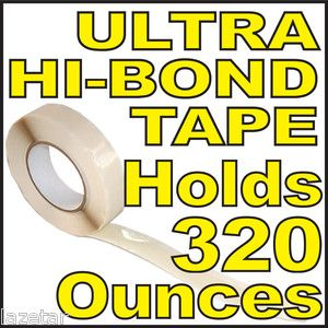 Double Backed Ultra High Bond Tape 2 Two Sided Coated Strong Clear