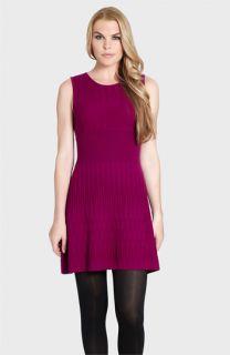 Cynthia Steffe Toni Sleeveless Pointelle Sweater Dress