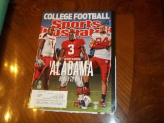 Sports Illustrated 2011 College Football Preview Alabama Crimson Tide